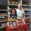 12. Brazos River Food Bank donation of 100 lbs of hamburger meet for their clients photo album thumbnail 2