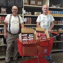 12. Brazos River Food Bank donation of 100 lbs of hamburger meet for their clients photo album thumbnail 3